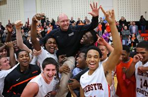 Webster principal gets belated shot at coaching milestone