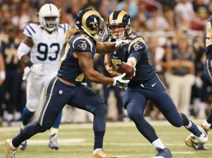 Rams notes: Mason leaves with hamstring injury