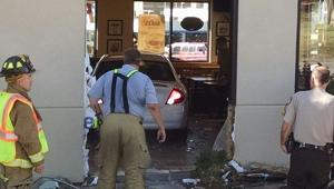 Car crashes into South County Dairy Queen, injuring several people