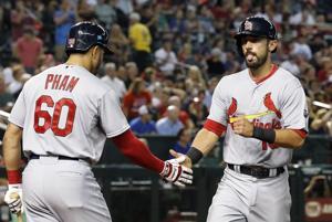 Game blog: Molina's hit caps Cards' winning rally