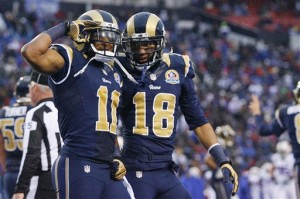 Round Two: Rams receivers come up big