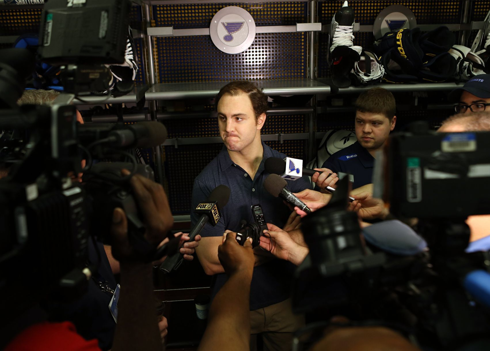 Shattenkirk expects Blues to trade him