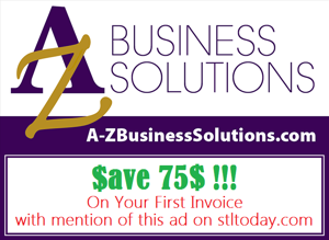 A-Z Business Solutions, in the St. Louis area, offers Remote Financial & Administrative Services to Small Business Owners Nationwide