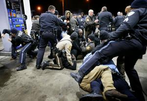 Protests, violence after fatal shooting by Berkeley police officer