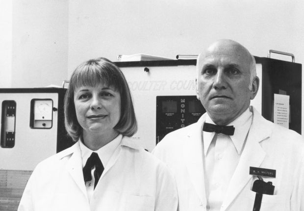 Sex researchers masters amp johnson through the years gallery