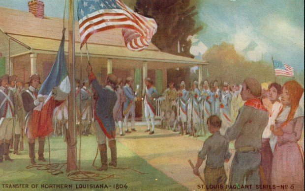 A Look Back Drums Cannon Salute Make St Louis An American City In 1804 News