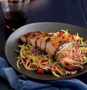 Seared Ginger Balsamic Salmon pic