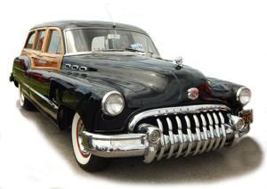 When it comes to automobile grills, few can top the 1950 Buick