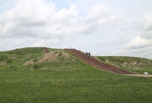 Illinois budget cuts felt by supporters of the Cahokia Mounds Historic Site