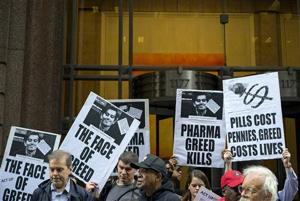 Turing reneges on drug price cut, rival's version sells well