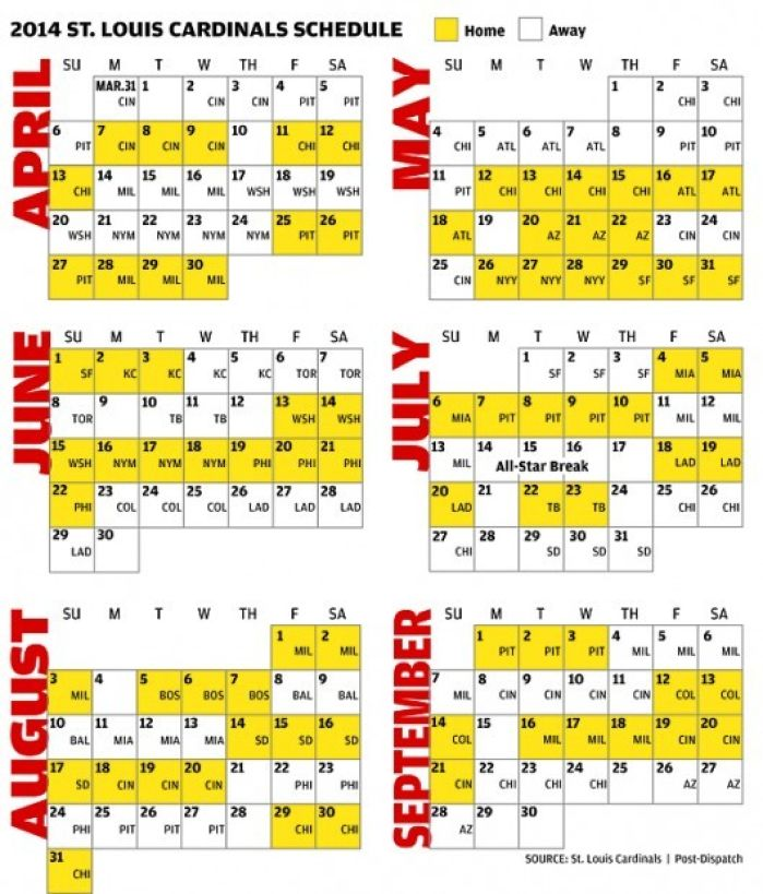 Geeky image throughout st louis cardinals printable schedule