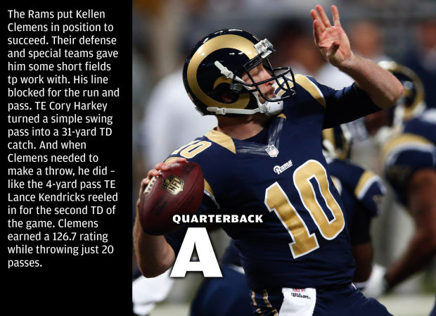 Rams Report Card Straight A S Vs Saints Gallery