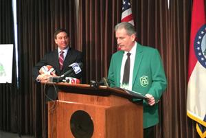 St. Louis County officials detail soccer complex at Creve Coeur Lake Park