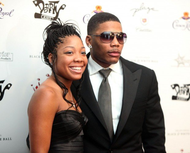 Photo of Nelly & his  Daughter  Chanel Haynes