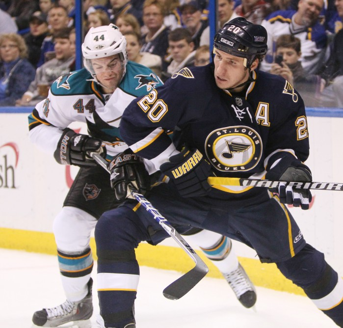 blues grind out another victory sports