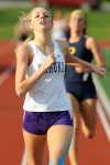 Collinsville's Mink is healthy and looking strong in 800