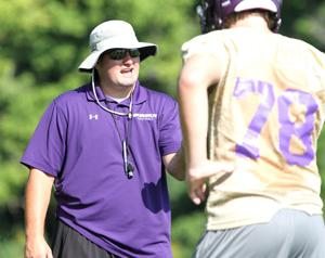 Eureka, Kirkwood open football practice under new leaders