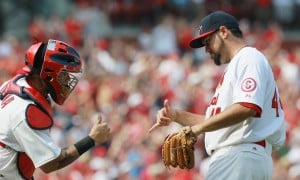 Goold: Cards win series, lose pitchers