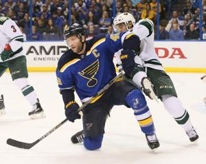 Blues expect a new look up front