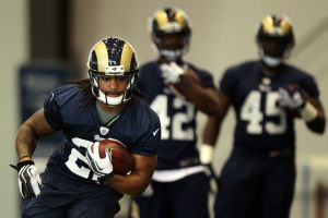 Day two of Rams rookies training camp