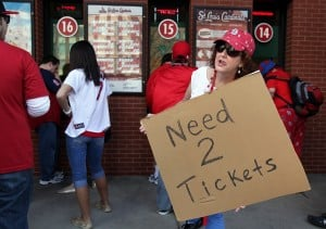 Scenes from Opening Day at Busch Stadium