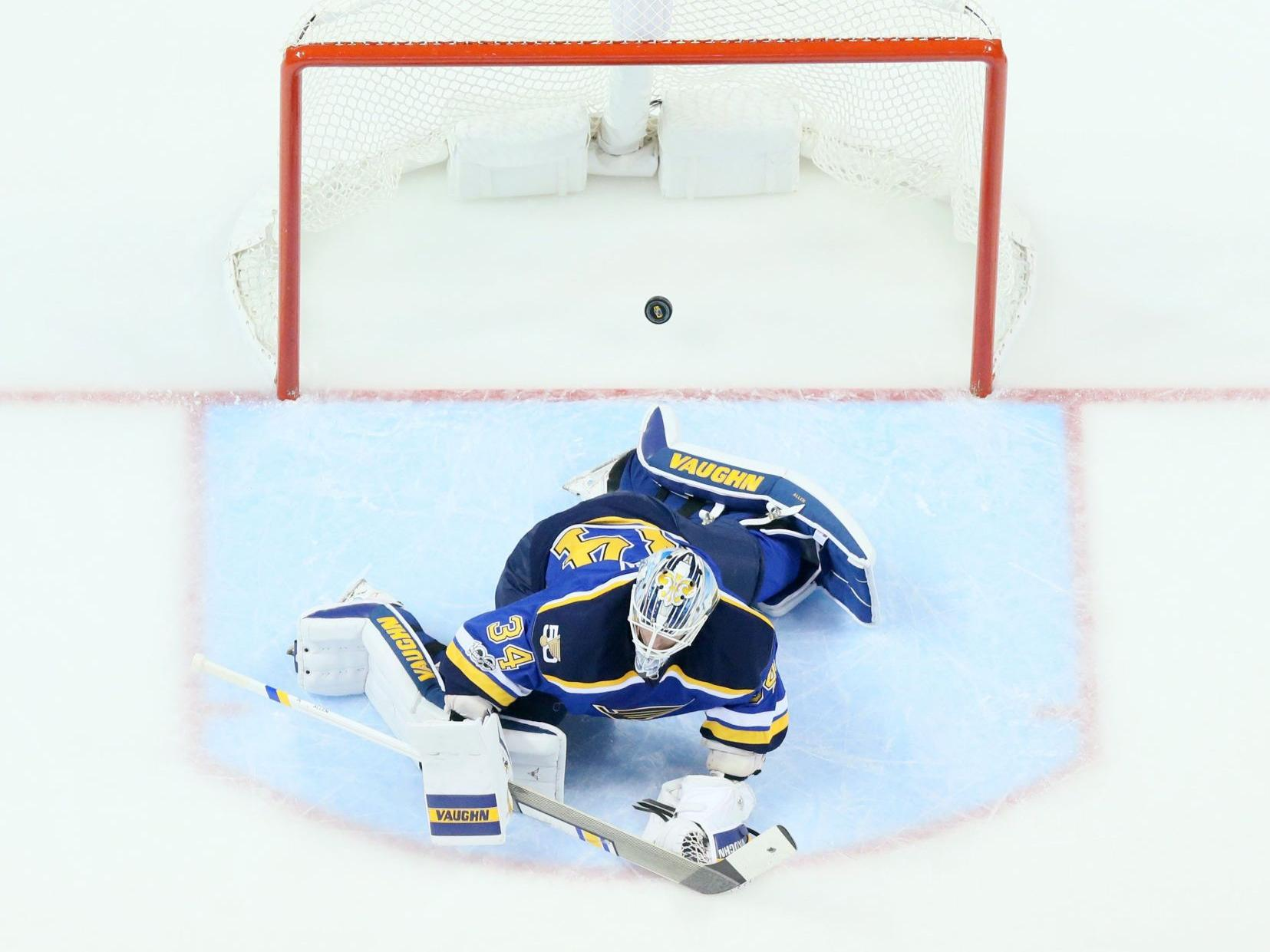 Blues give Allen more rest; Hutton will start at Pittsburgh
