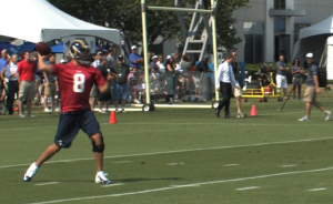 Video: Rams complete day 1, let Bradford loose