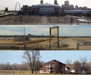 A new stadium for the St. Louis Rams?