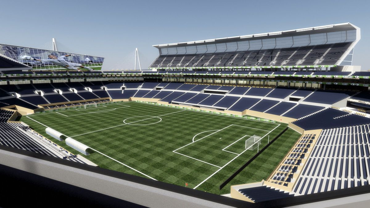 It's glitz vs. practicality in LA stadium plans | Political Fix ...