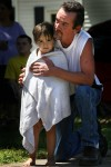 Family gives thanks at Alisa Maier barbecue