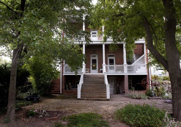 Historic farmhouse and its owners weather the storm together
