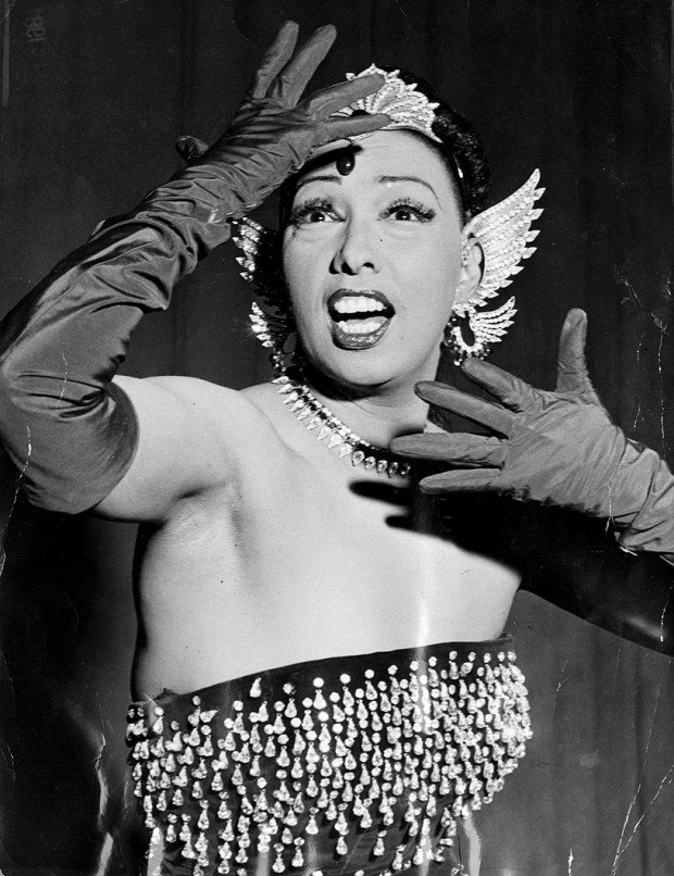 A Look Back • Josephine Baker returns, rips St. Louis ... Josephine Baker