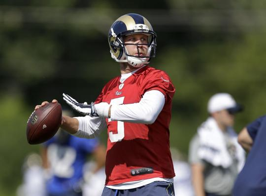 Nike NFL Jerseys - Rams notebook: TE Bayer looking to win a job again | NFL ...