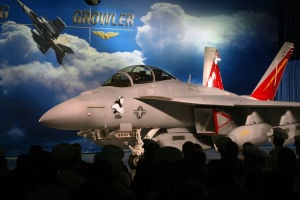 U.S. Navy chief: Cyber missions could fuel orders for Boeing EA-18G Growlers