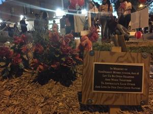 Dozens attend vigil for Vonderrit Myers Jr., killed in gun battle with St. Louis officer