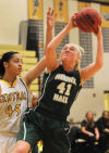 GIRLS HOOPS: Nerinx Hall uses size to impose its will in victory over St. Joe's