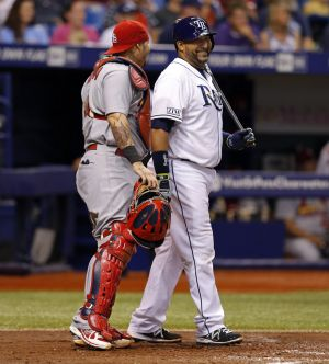 Cards bring Jose Molina to camp as instructor