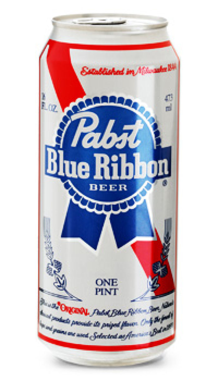 Pabst Brewing exploring sale   Pabst Blue Ribbon Tall Can