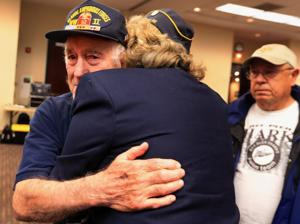Lone WWII veteran guest of honor at Pearl Harbor day remembrance