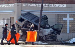Woman thrown from car, killed in violent St. Louis crash