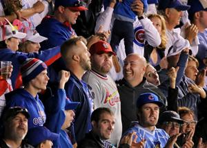 Finding the Red in Blue: Cards fans in Chicago for Game 3