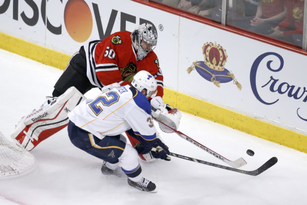 Hurry up and wait: Blues-Blackhawks starts at 8:30 p.m.