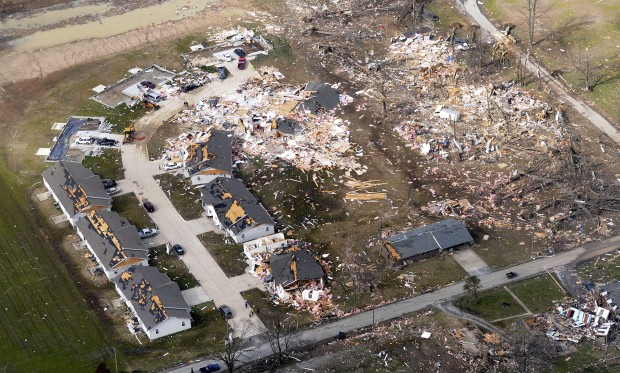 3 Months After Tornado Hit Harrisburg Ill An 8th Victim