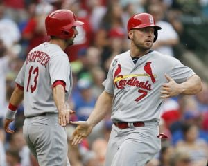 Adams and A.J. spark Cards past Cubs
