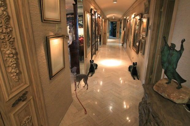 at home with interior designer jack brandt gallery