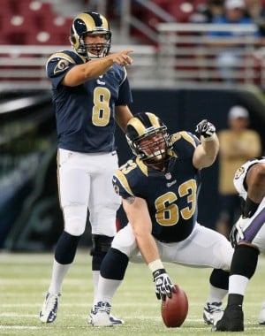 Another knee operation for Rams center Scott Wells