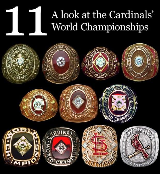 Cardinals 11 World Championships