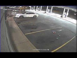 Surveillance video of Berkeley officer-involved shooting