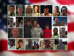 Holiday greetings from STL men and women in military