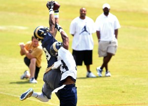 Receiver Pettis stands out at OTAs